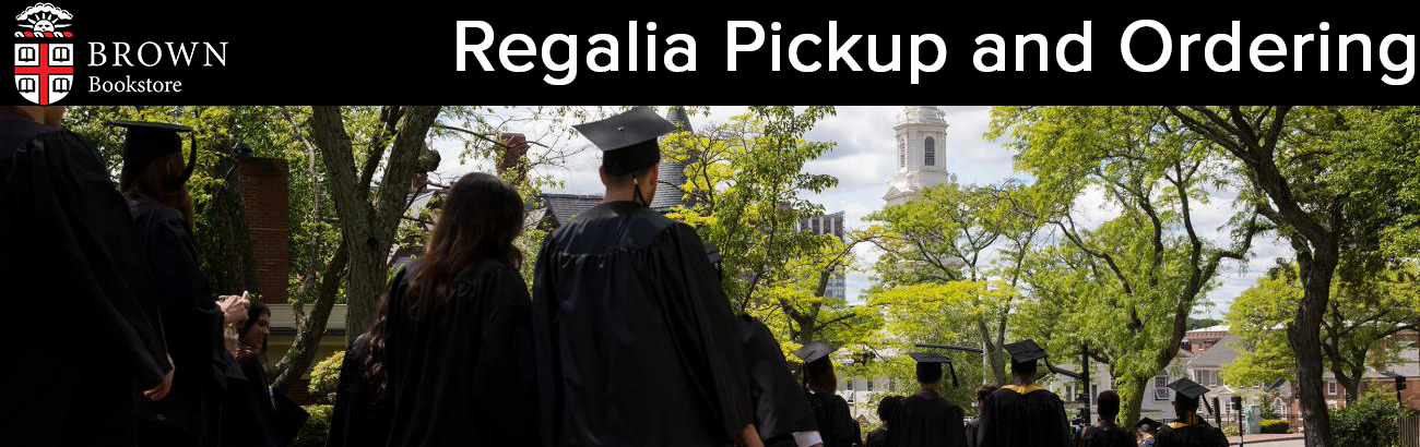 Regalia Ordering and Pickup
