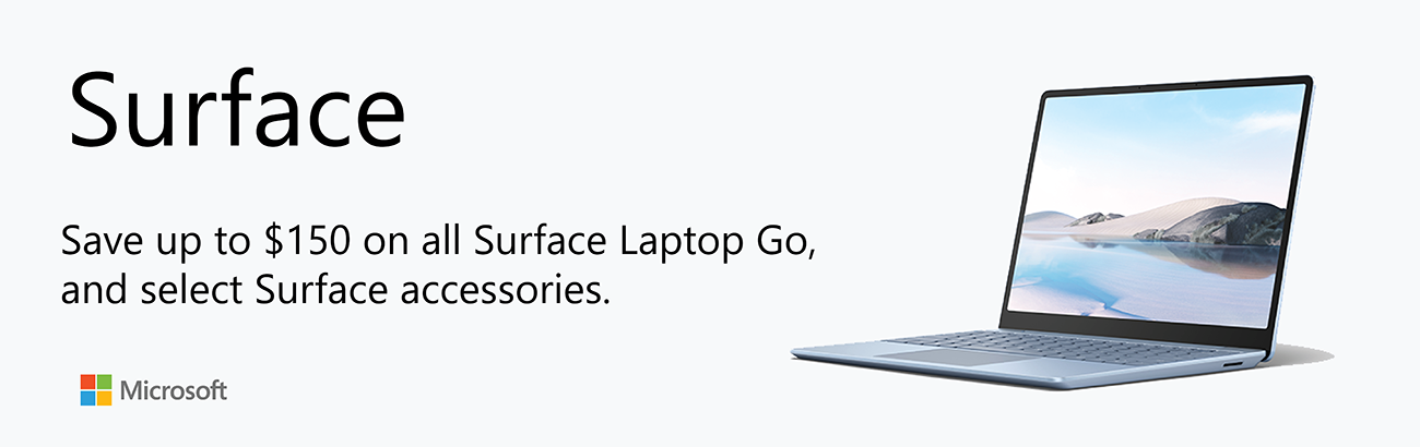 Microsoft Surface Promo - Ends 6/30