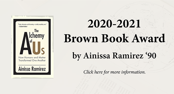 Brown Book Award 2021 - The Alchemy of Us