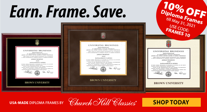 Church Hill Diploma Frames
