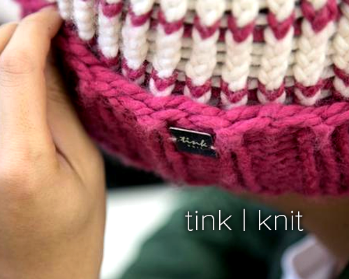 tink | knit: hand-knit goods made by mothers in our community