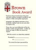 01 - Brown University Book Award - Alumni Sponsored thumbnail