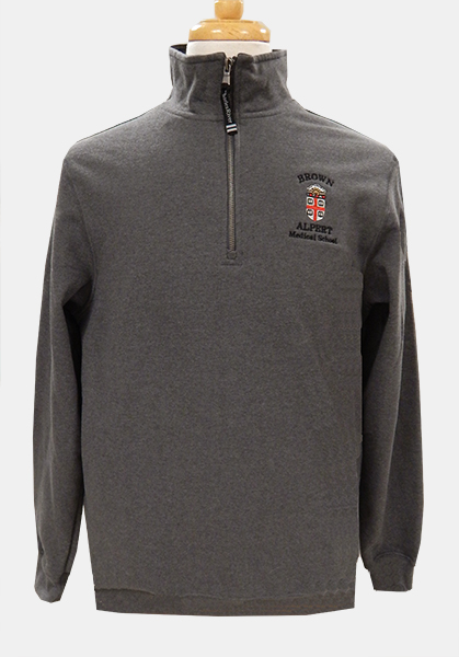 AMS Charles River Grey 1/4 Zip Pullover - $49.99