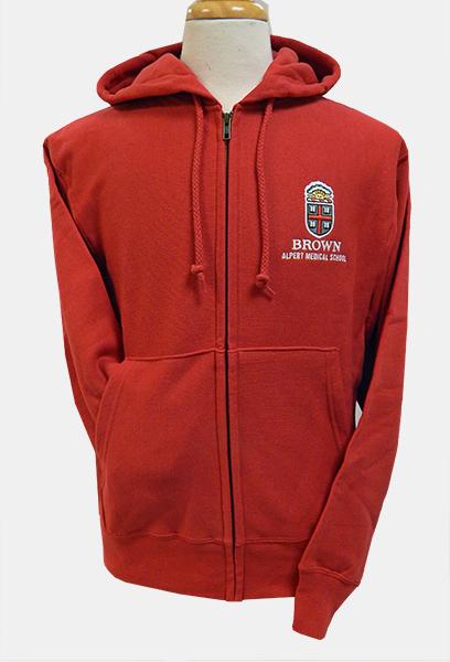 AMS Champion RW Red Zip Hooded Sweatshirt - $49.99