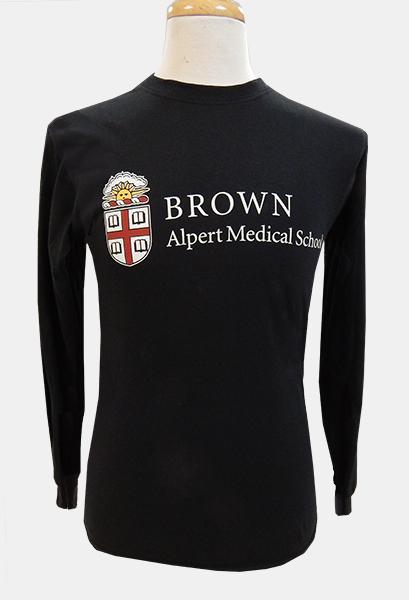 AMS ESS Black Crest Long-Sleeve Tee - $29.99