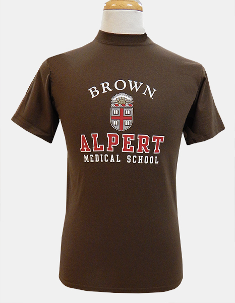 AMS Gear Brown Crest Tee  - $21.99