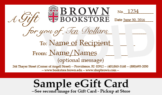 00 - Gift Card - Email or Pickup at Store