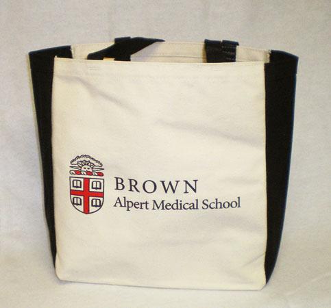 Tote Bag - Alpert Medical School Canvas Tote Bag