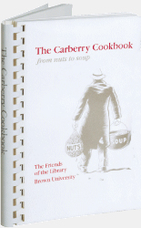 Cover Image For 1 - The Carberry Cookbook: from soup to nuts