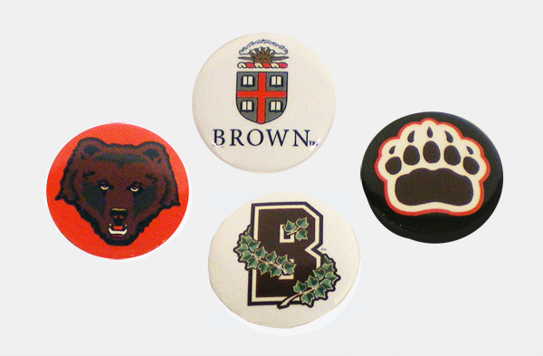 Image For Button Pins - Set of 4