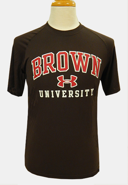 Image For Under Armour Brown Univ. Tee - $34.99