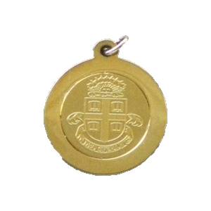 Image For Charm - CSI Medallion Charm with Brown Seal - $19.99