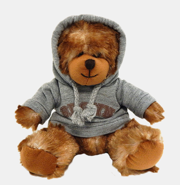 "Image For 5.5"" Mini Bear with Grey Hoody"