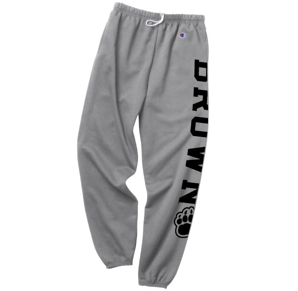 Image For Champion Grey Paw Sweatpants - $32.99