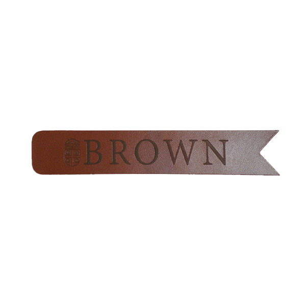 Image For Bookmark - Brown Leather - $7.99
