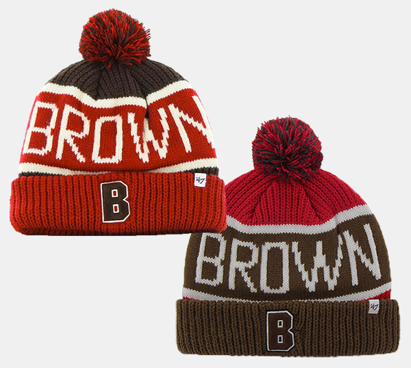 Image For 47 Brand Ribbed Knit Cuff Pom Hat - $24.99