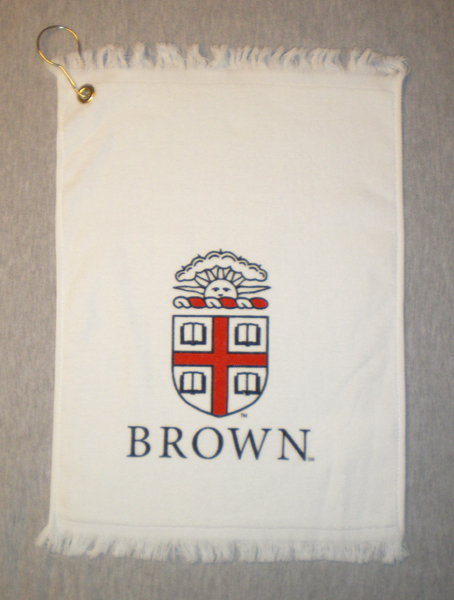 Image For Golf Towel - White Cotton with clip