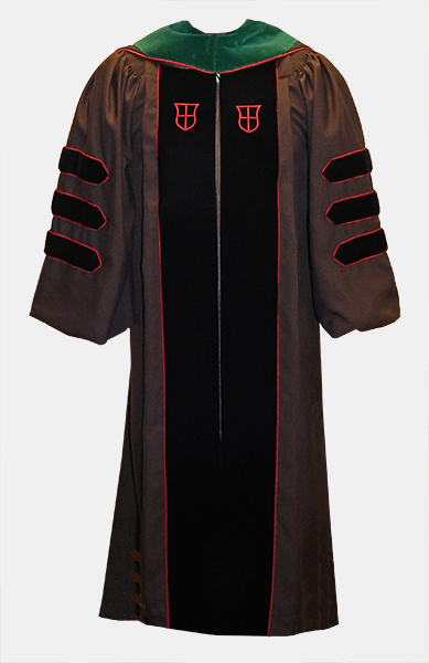 Image For Regalia Purchase - 21 - MD Brown Gown
