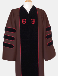 Image For Regalia Purchase - 31 - PhD Brown Gown