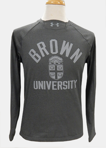 Image For Under Armour Grey-on-Grey Crew Sweatshirt - $69.99