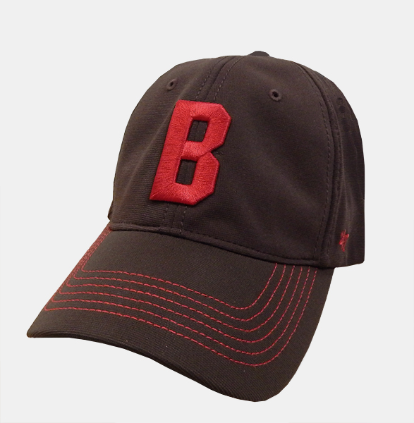 Image For 47 Brand Brown Raised Cardinal B Cap