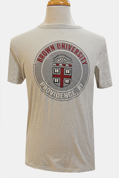 Image For 47 Brand Grey Crest Medallion Tri-Tee - $34.99