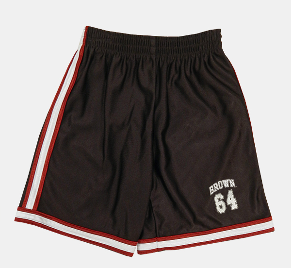 Image For YSH - Third Street Youth Brown Stripe Shorts - $29.99