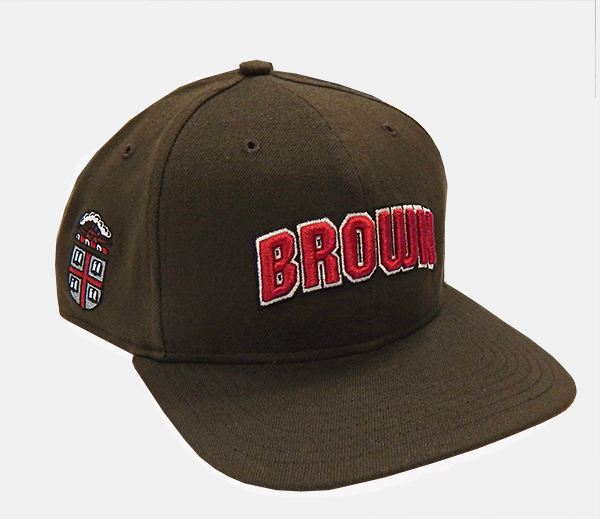 Image For 47 Brand Brown Side Crest Flat Bill Cap