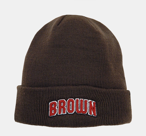 Image For 47 Brand Brown Knit Cap w/Cuff