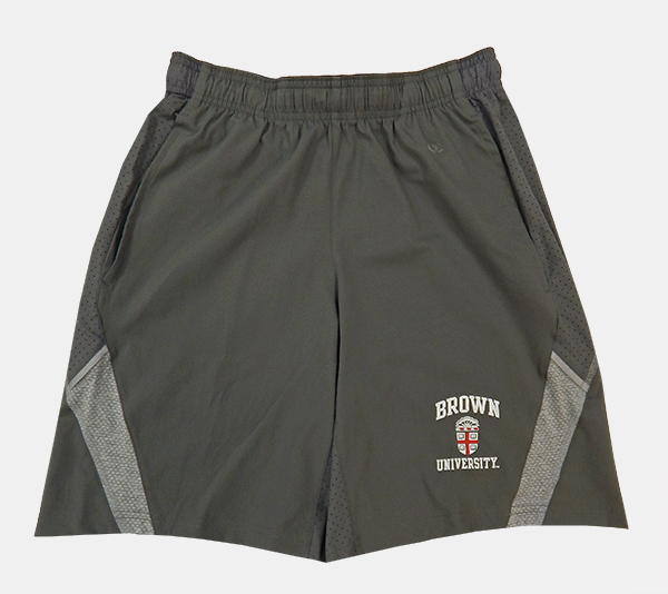 Image For Champion Grey Crest Shorts - $35.99
