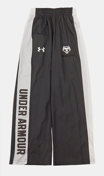 Image For YSP - UA Youth Charcoal & White Striped Sweatpants - $24.99