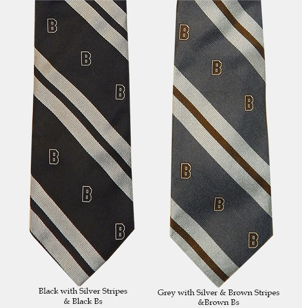Image For 1 - Drake's of London Silk Striped Ties with Bs - $145