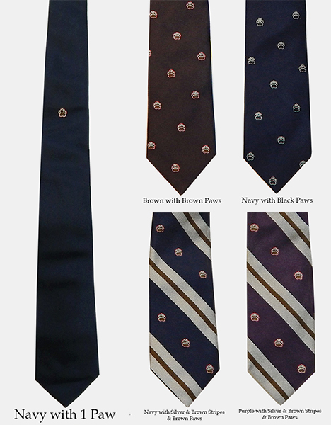 Image For 1 - Drake's of London Silk Paw Ties - $145