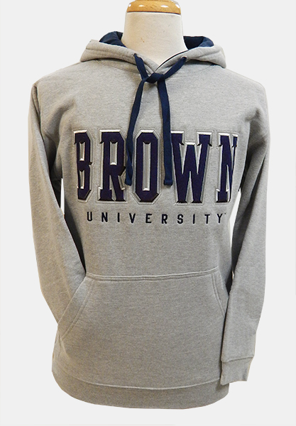 Image For Ouray Grey Navy-Hooded Sweatshirt - $49.99