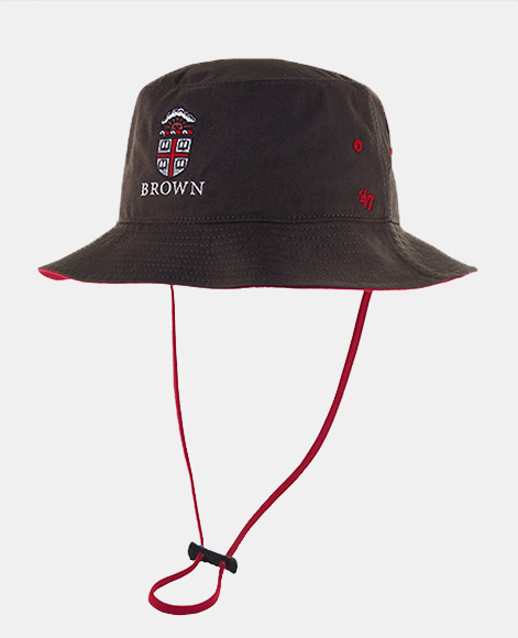 47 Brand Brown   Cardinal Crest Bucket Hat 06ecda45805f