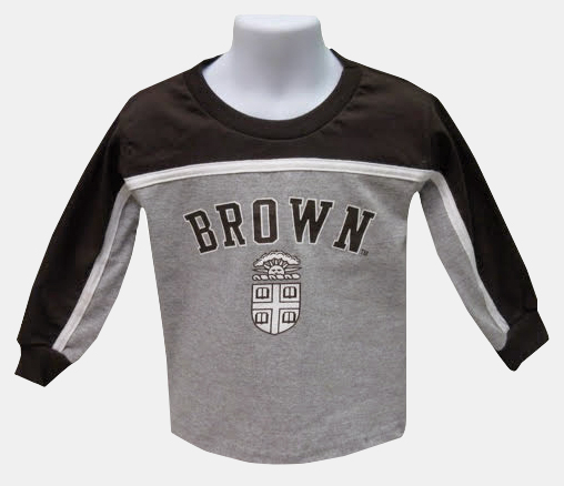 Image For YT - Third Street Youth Brown & Grey Long-Sleeve Tee -$24.99