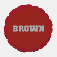 Image For Brown - Cardinal Microfoil Balloon