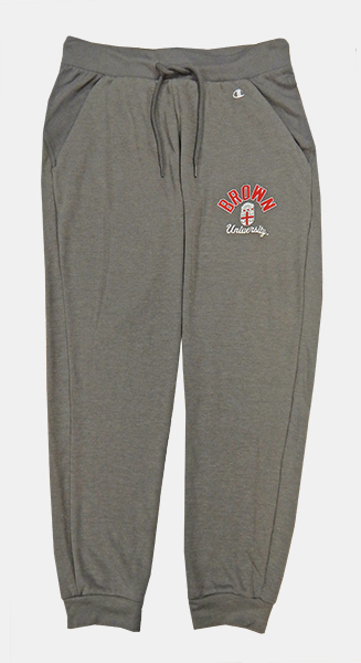 Image For Champion Grey Mesh Women's Cropped Sweatpants - $39.99