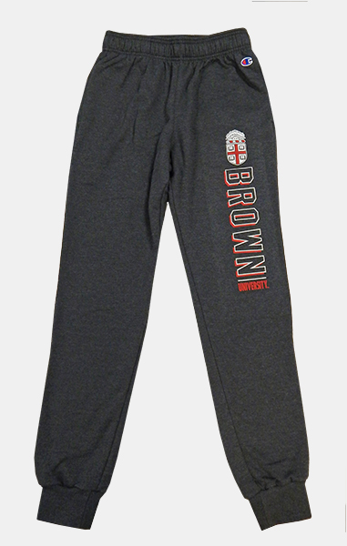 Image For Champion Charcoal Crest Women's Sweatpants - $39.99