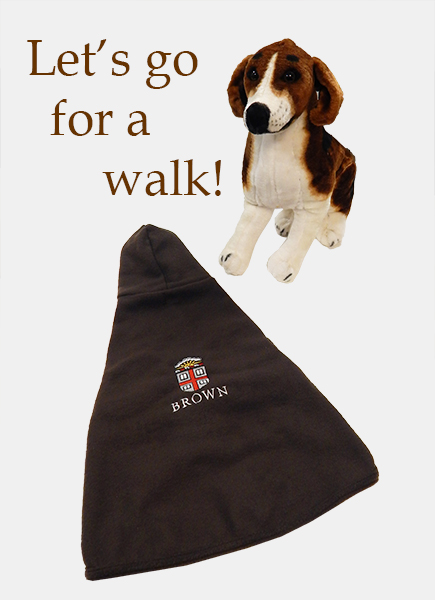 Image For 1 - Dog Coat - Brown Fleece with Hood - $29.99