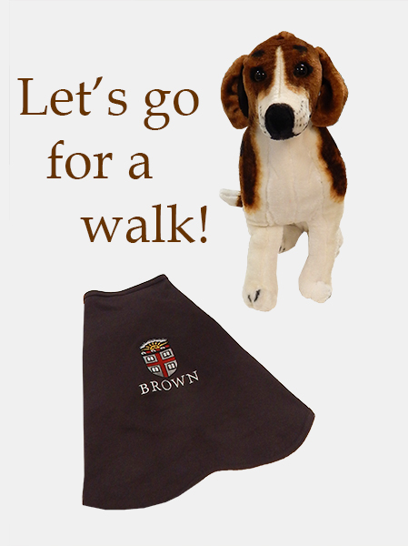 Image For 1 - Dog Tee - Brown Crest - $22.99