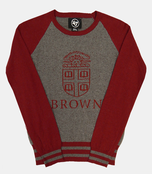 Image For 47 Brand Charcoal & Cardinal Women's Sweater - $75.00