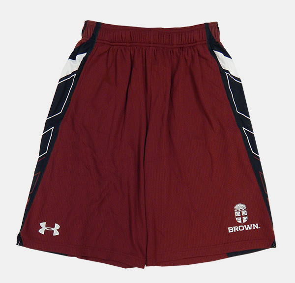 Image For Under Armour Cardinal & Black Mesh Shorts - $49.99