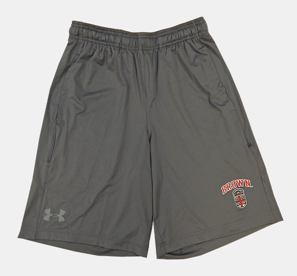 Image For Under Armour Grey Crest Est. Shorts - $42.99