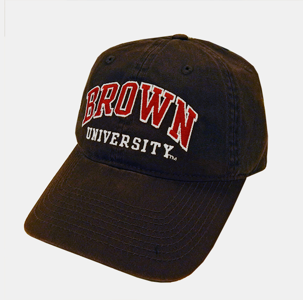 Image For Champion Brown Red Letter Univ. Cap
