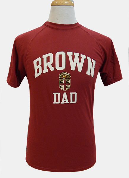 Image For Champion Brown Dad Cardinal Crest Tee - $32.99