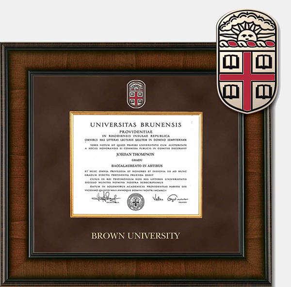 Image For Church Hill Presidential Madison Diploma Frame - BA/MA/PhD