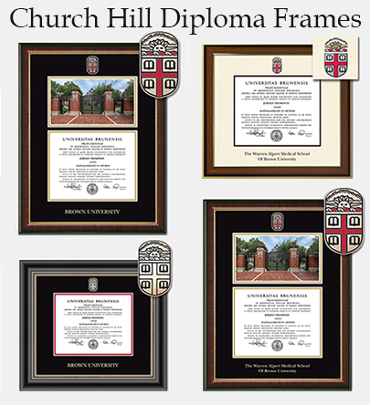Cover Image For 1 - Church Hill Diploma Frames