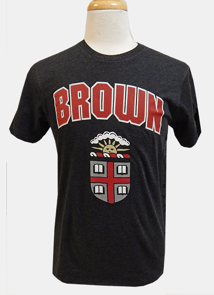 Image For 47 Brand Black/Cardinal/Brown Crest Tee
