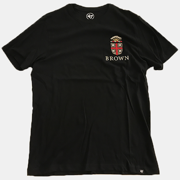 Image For 47 Brand Black Crest Tee